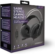 (R9C) Gaming. 5 X Venom Nighthawk Stereo Gaming Headset