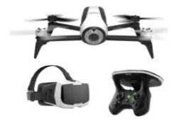 (R13B) 1 X PARROT BEBOP 2 FPV Drone With Virtual Headset (RRP £500)