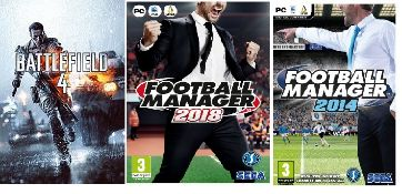 (R9C) Gaming. 13 X Football Manager 2018 (PC, Mac, Linux), 2 X Football Manager 2014 (PC, Mac, Linu
