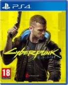 (R9C) Gaming. 1 X PS4 Cyberpunk Game (RRP £50)