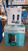 (R9A) Office / Home. 4 Items. 3 x BT Converse 225 Corded Telephone With Data Port (2 X New) & 1 X