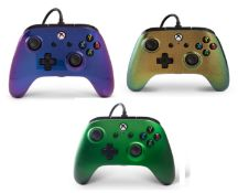 (R9A) Gaming. 5 X Power A Xbox / Windows 10 Wired Controller