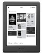 "(R13B) 1 X Kobo Glo E Reader. 6"" Pearl E Ink XHA High Res Display. No Glare Touch Screen. Intergrat"