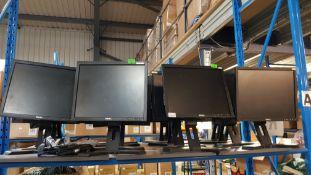 (R5A) Computing. 8 X Dell Monitor (1 X Cables)