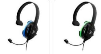 (R9B) Gaming. 6 Items. 4 X Turtle Beach Recon Chat Xbox Wired Headset & 2 X Turtle Beach Recon Chat