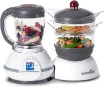 (R5I) Household. 4 Items. 1 X Babymoov Nurtibaby Classic Food Processor, 1 X Clarsen Mighty Ionic A