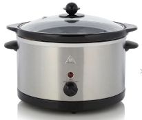 (R5D) Household. 2 X 3L Slow Cooker (New)