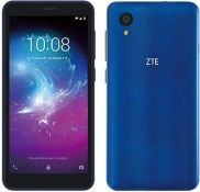 "(R13B) 1 X ZTE Blade A3 Smartphone Blue. 16GB 5"" GPS 4G LTE. Appears As New"