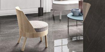 Pietra Gray - Italian Porcelain Tiles - 60 x 120 cm - Polished