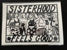 Poppy Chancellor Sister Hood Print £25