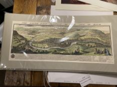 Hand Coloured Samuel And Nathaniel Buck Re-Prints