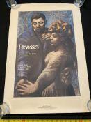 Picasso Exhibition 1980 Limited Edition Rare