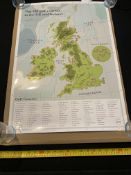 Top 100 Golf courses, scratch and play poster