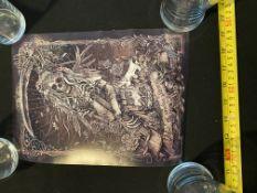 Five Christopher Lovell Signed Prints