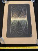 Glass Siren Studio Print Gold