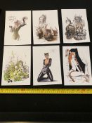 Six Art By Luphalia Limited Edition Prints £9.99 Each