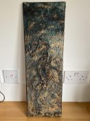 Three original pieces of art by Cate Wallward