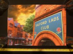 Davo Howarth Signed Salfords Lads Club Limited Edition Print