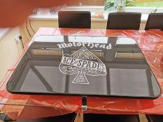 Bespoke Table Top Motorhead Ace Of Spades Resin Table Top For Camper Or Caravan