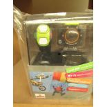 Full Hd Sports Wifi Action Camera With Accessories And Bracelet,