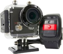 Kaiser BAAs x100 (Kba12009) Waterproof Sport Action Camera With Casing - Black Rrp £119.99