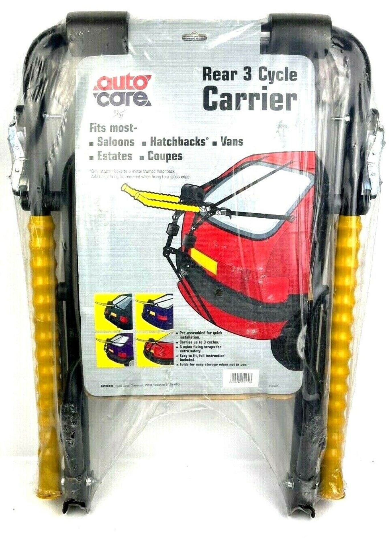 Brand New Autocare - Universal Bicycle Carrier