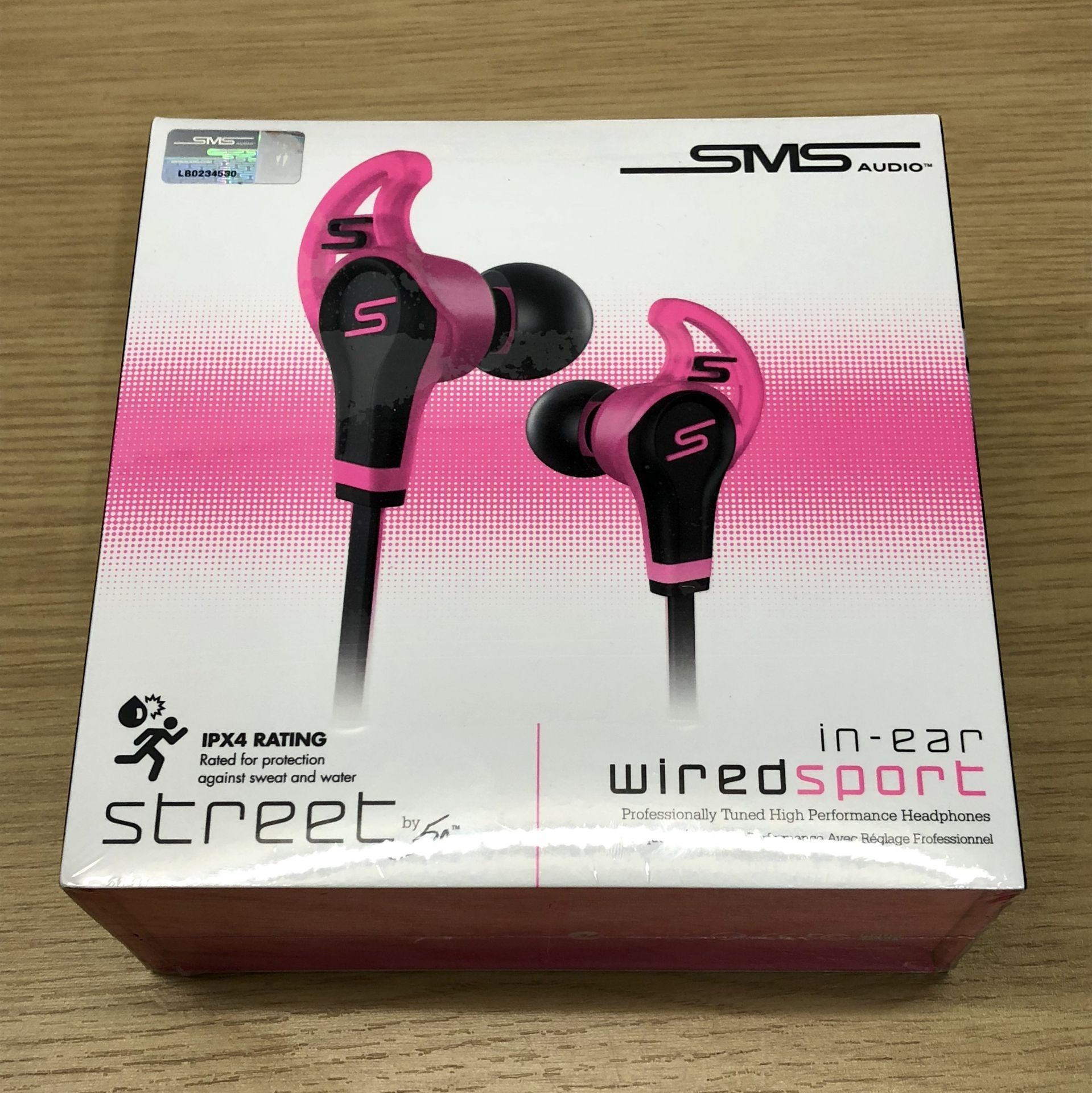 Brand New Sms Audio Street By 50 Cent Sport Earphones - Rrp 59.99