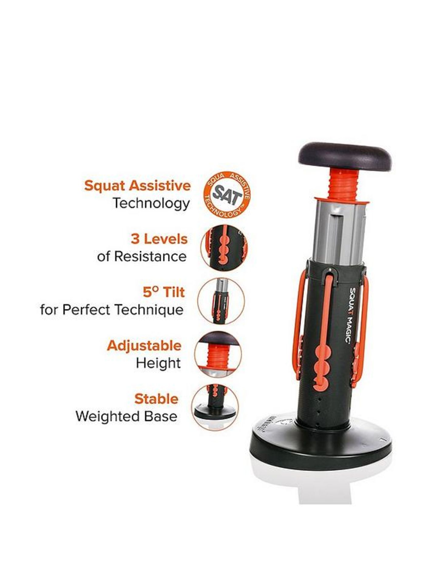 Brand New Clubfit - Adjustable Power Hand Grips (10 Kg - 40 Kg) Rrp 16.99 - Image 3 of 5