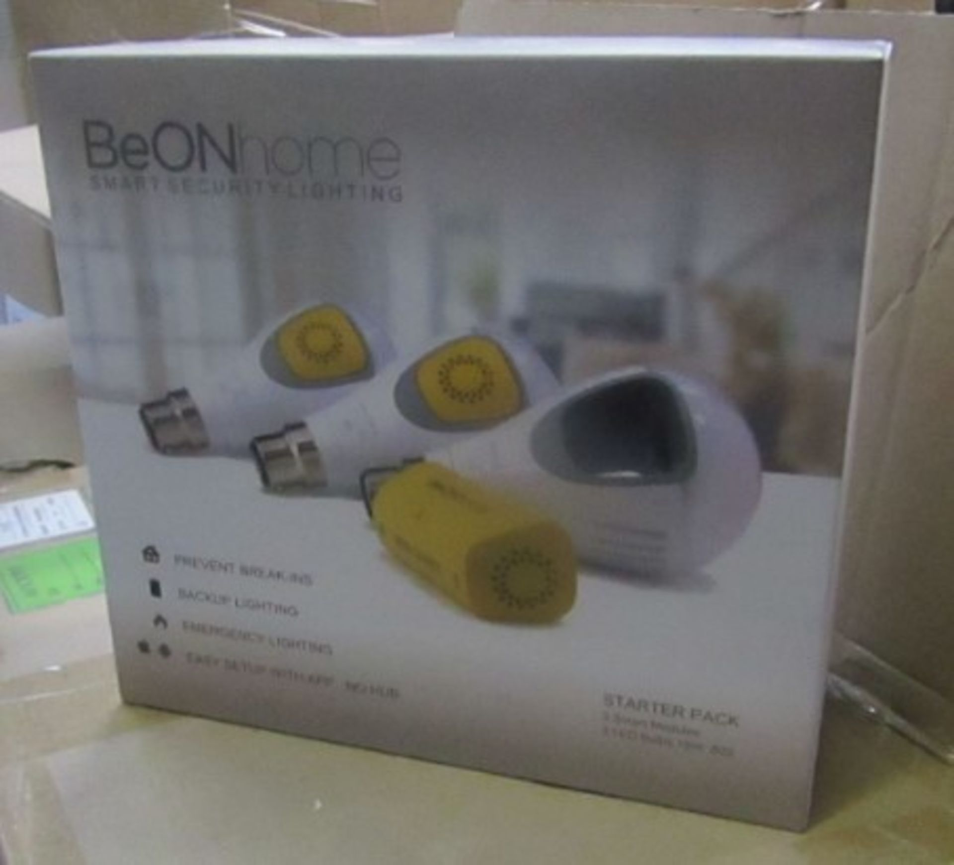 Brand New Be Onhome Smart Security Lighting Starter Pack