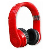 Fanny Wang 1001 High Definition On Ear Headphones Double Jack Gold Plated - Red Rrp £69.99