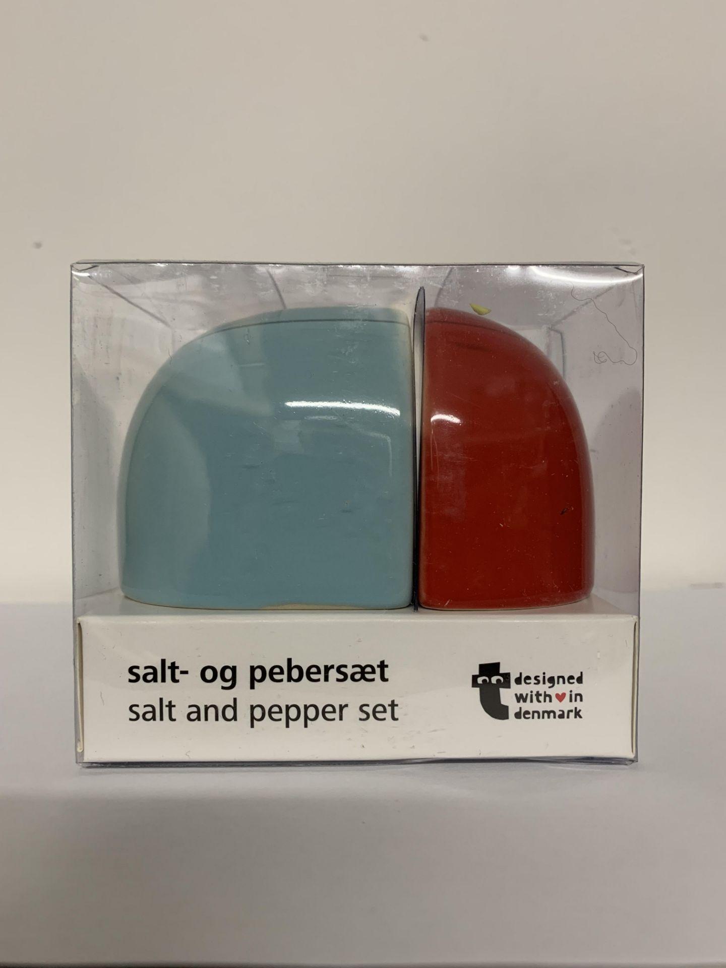 6 x Salt & Pepper Sets (Designed In Denmark)