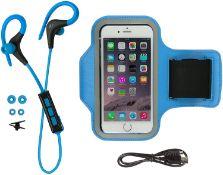 Kitsound Race And Armband Sports Bundle Blue