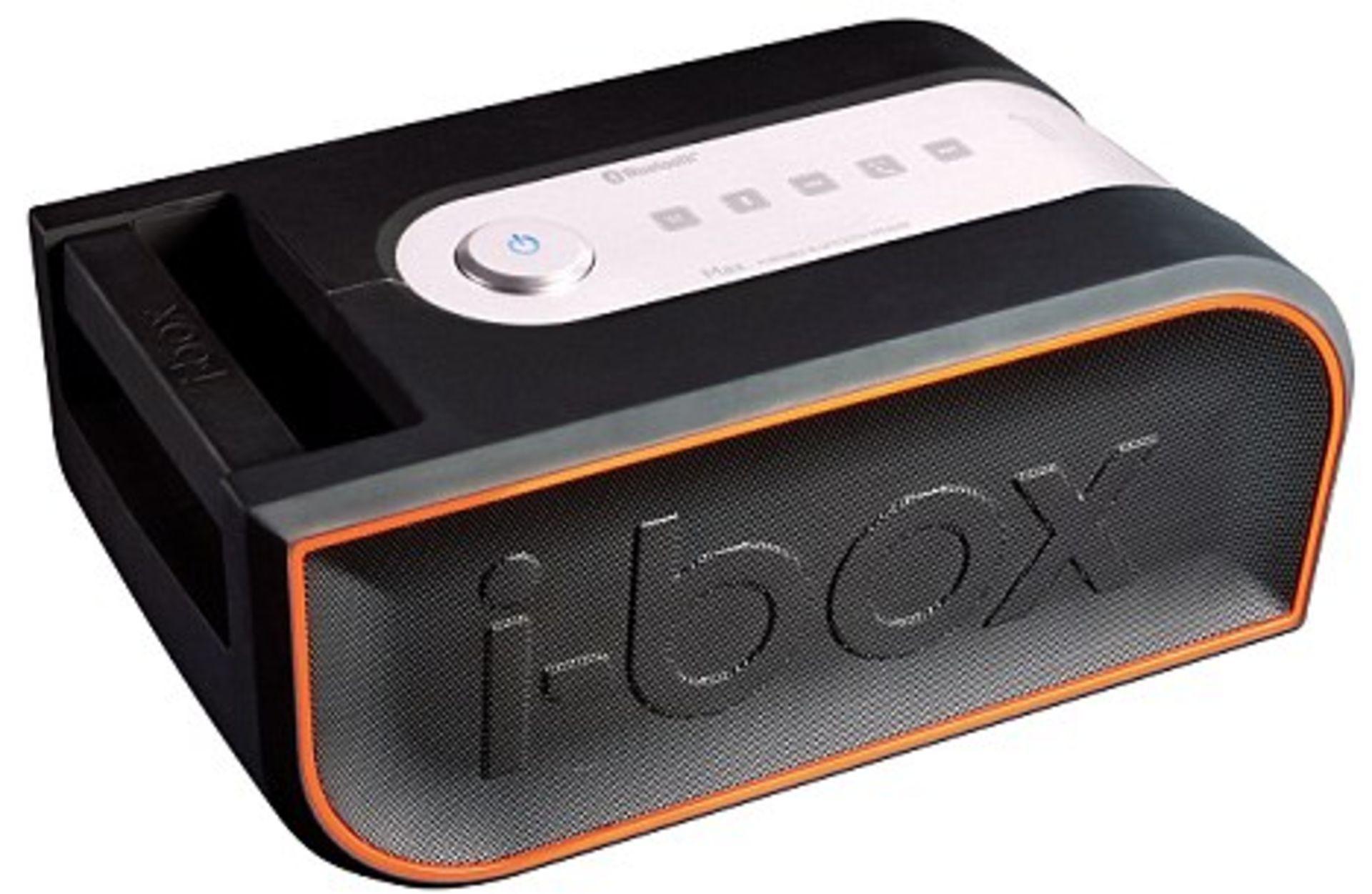 New - I-Box Max Performance Portable Bluetooth Sound System Rrp 148.99