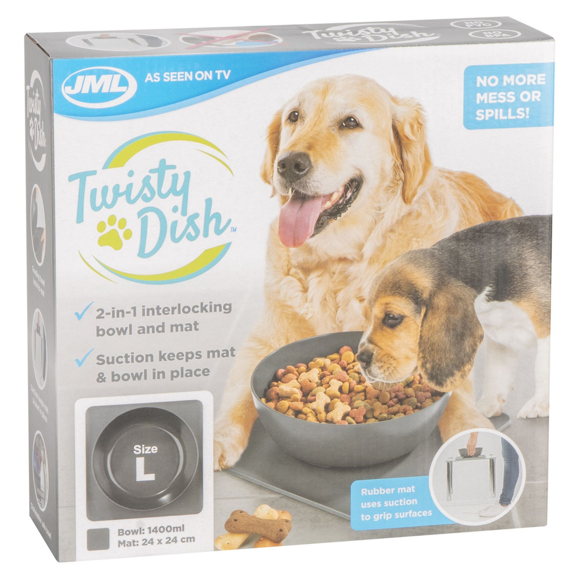 Brand New Jml Twisty Dish Rrp 18.99