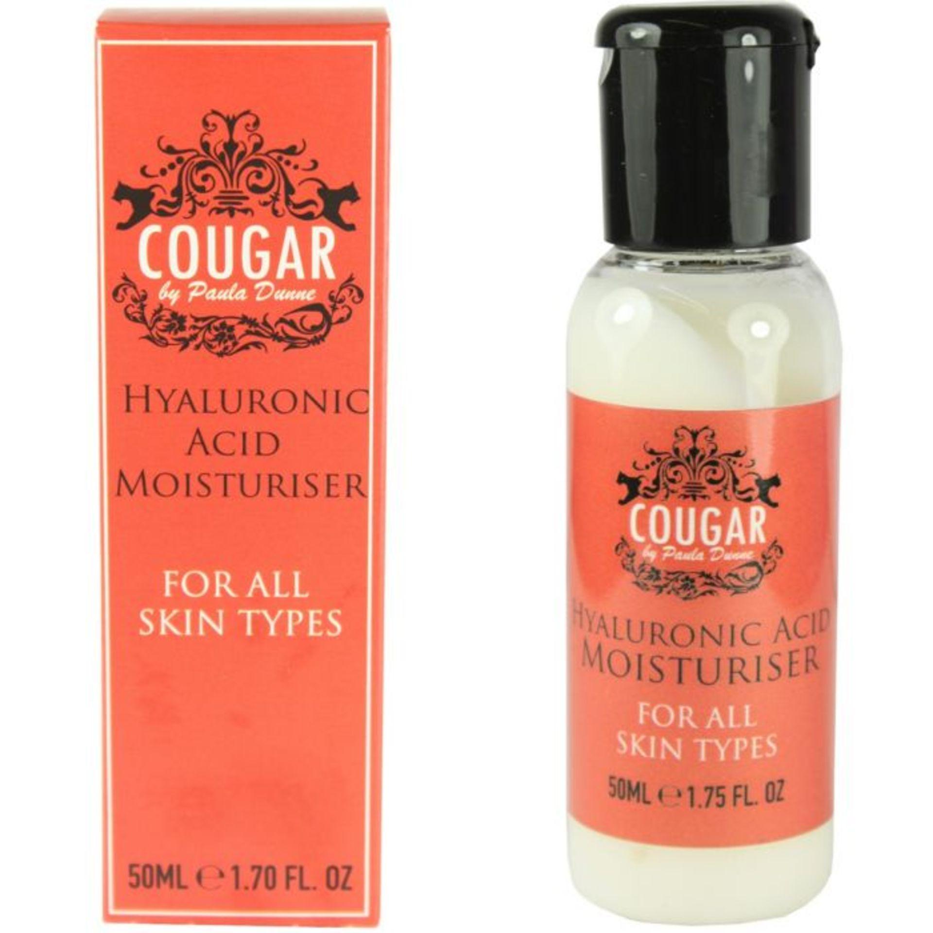 Brand New Cougar Hyaluronic Acid Facial Moisturiser 50Ml
