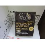20 x 200G Packets Of Glamour Effect Extra Strong Universal Wall Paper Adhesive