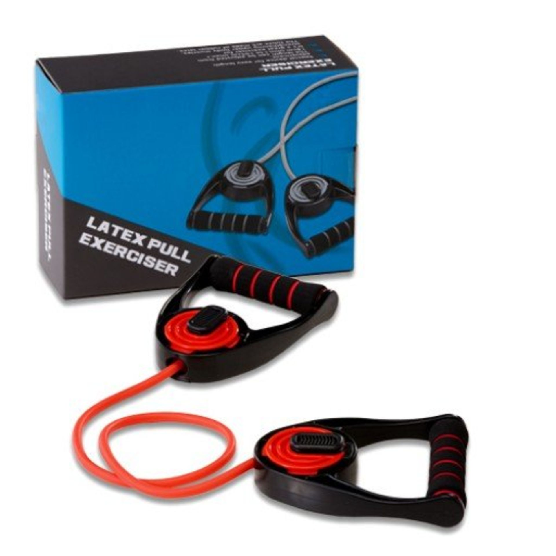 Brand New Clubfit - Latex Pull Exerciser