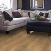 New 20m2 Milano Oak Effect Laminate Flooring, 1.25m2 Pack. This Overture Laminate Flooring Offe...