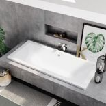 New (A7) 1800x800mm Square Double Ended Bath. Made From The Best Quality Lucite¨ Acrylic Fib...