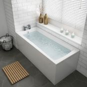 New 1700x700x545mm Whirlpool Jucuzzi Single Ended Bath - 6 Jets. Rrp £1,299.99.Spa Experiance...