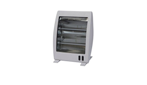 New (S213) Light Grey Electric Quartz Heater 1000W. This Portable Electric Heater Will Quickly ...