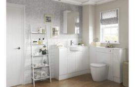 New (P187) Valesso White Gloss 600mm Base Unit. Rrp £205.55. Height (mm): 720. Width (mm): 60...