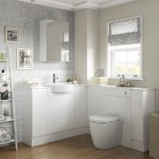 NEW (M64) Valesso 200mm Full Height Toilet Roll Unit. RRP £210.00. Height (mm): 720 Width (mm...