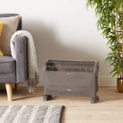 (H134) 2000W Convector Heater Handy And Portable, This Freestanding Convector Heater Delivers W...