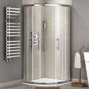 New (W127) 800x800mm -2 Door- 6mm - Premium Easyclean Quadrant Shower Enclosure. RRP £499.99....