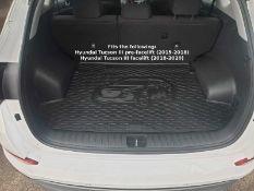 Rigum Premium Tailored Rubber Boot Mat Liner - Hyundai Tucson III 2015-2020