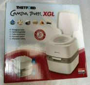 Portable Toilet Porta Potti Thetford Campa Potti XGL Outdoor Camping