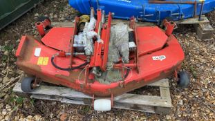 """Deck for compact tractor 48"""" with brackets"""