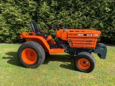 Kubota B6200. Compact tractor 4x4