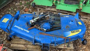 New Holland deck for compact tractor, as new never fitted
